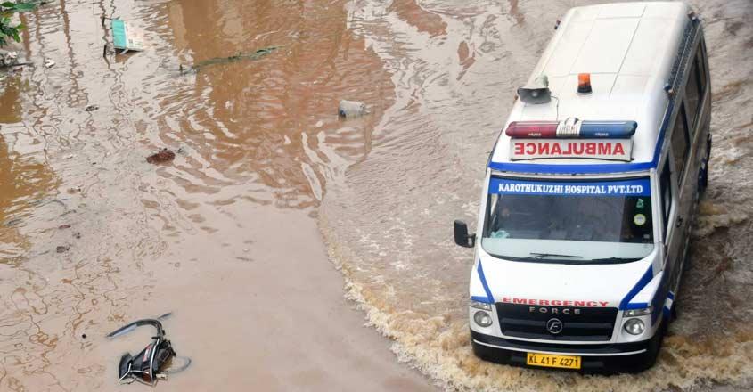 Ambulance-flood