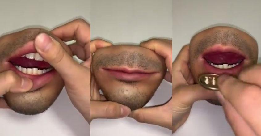 mouth-purse