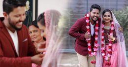 10 വർഷം നീണ്ട പ്രണയം; വിവാഹത്തിന് 20 പേർ; മാതൃക രചിച്ച് മഹേഷും ഷെമീറയും