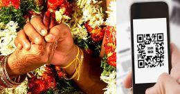 കല്യാണക്കുറിയിൽ ക്യുആർ കോഡ്; 'അനുഗ്രഹത്തുക സ്കാൻ െചയ്ത് അയക്കൂ.. പ്ലീസ്'