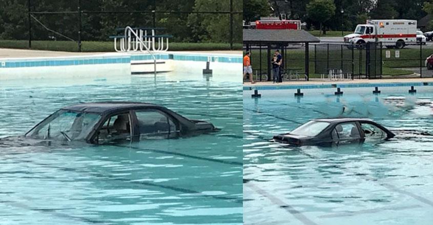 car-swimming