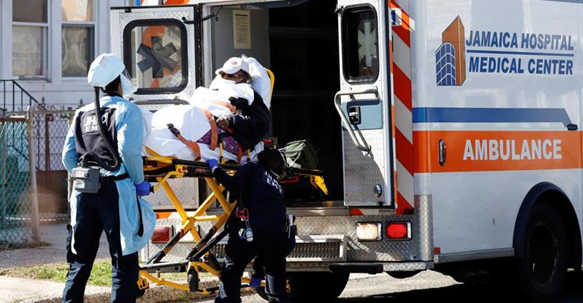HEALTH-CORONAVIRUS-USA-EMTS