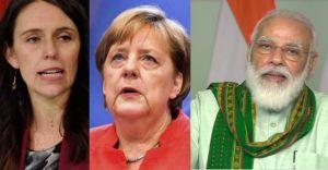 ജസീന്ദ മികച്ച നേതാവ്; രണ്ടാമത് മെര്ക്കല്; മൂന്നാമത് മോദി: റിപ്പോർട്ട്