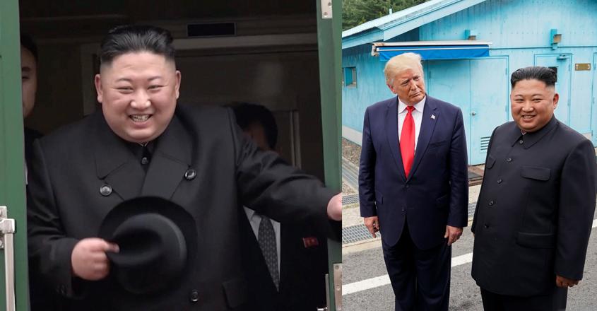 kim-trump-train