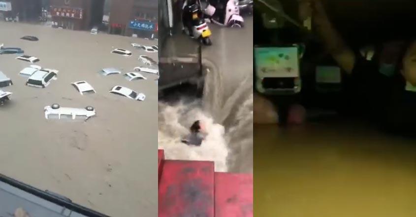 china-flood-new-car