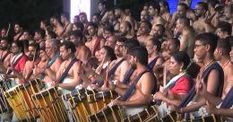 ബഹ്റൈനിൽ മേളപ്പെരുക്കം, മട്ടന്നൂരും പെരുവനവും ഒരേവേദിയിൽ