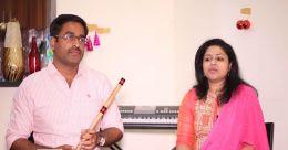 ഓടക്കുഴലും സംഗീതവും; വിസ്മയം തീർത്ത് മലയാളിദമ്പതികൾ
