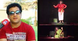 വേലുക്കുട്ടിയാശാന് ആദരവുമായി സന്തോഷ് കീഴാറ്റൂർ