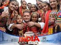 India Black and White