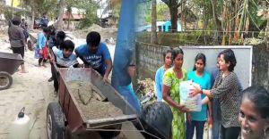 ഓഖി ദുരിതബാധിതർക്ക് കൈത്താങ്ങായി നല്ലപാഠം കൂട്ടുകാർ