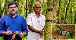 റബര് ടാപ്പിങ് മെഷീന് കണ്ടുപിടിച്ച കഥ; ജോസഫിന്റെയും ജിമ്മിയുടെയും ജീവിതകഥ