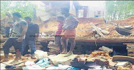 trivandrum-house-accident