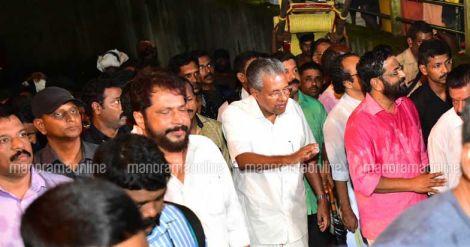 Kerala CM at Sabarimala Hill shrine